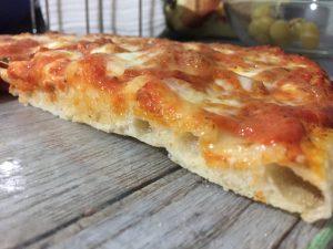Pizza con 24h di lievitazione